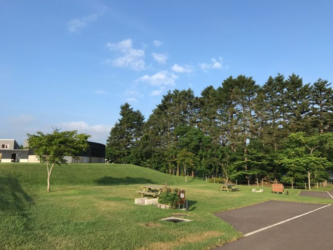 オートリゾート八雲 キャンピングカーサイトD