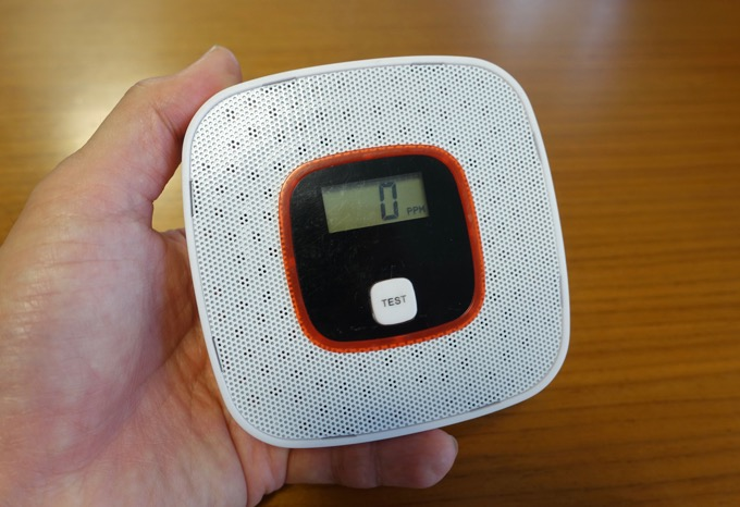 一酸化炭素警報機