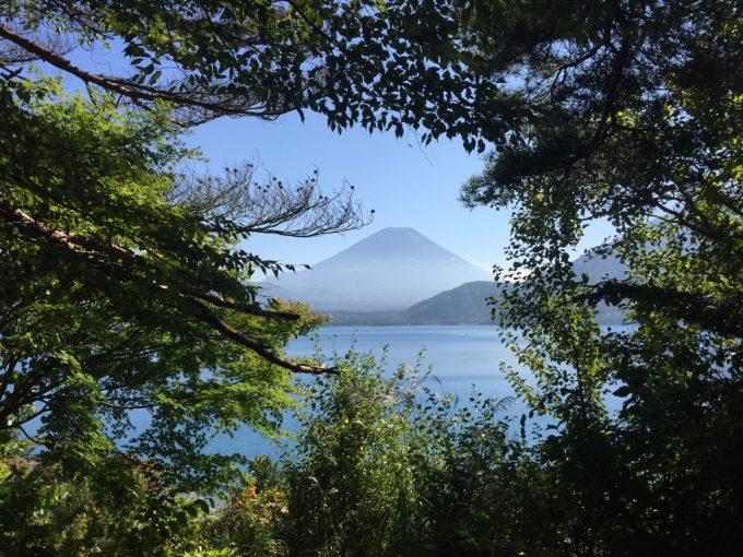浩庵キャンプ場 富士山