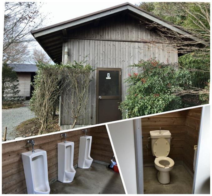 やまぼうしオートキャンプ場トイレ