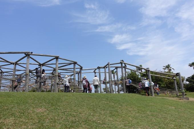 竜洋海洋公園 アスレチック