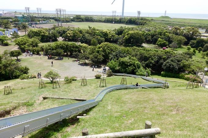 竜洋海洋公園 ローラー滑り台