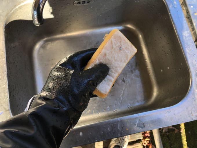 ダイローブ102F食器洗い