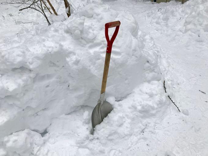 雪用スコップ