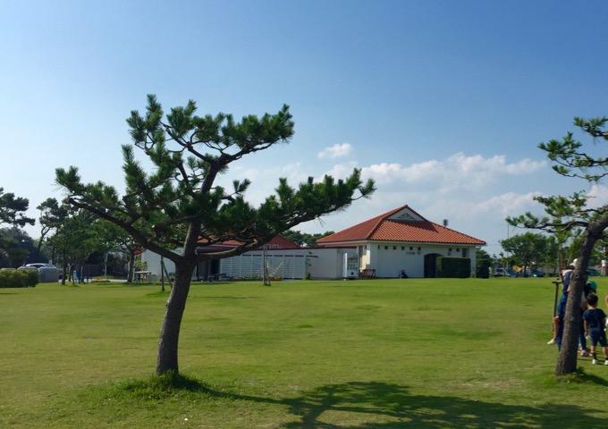 竜洋海洋公園オートキャンプ場フリーサイト