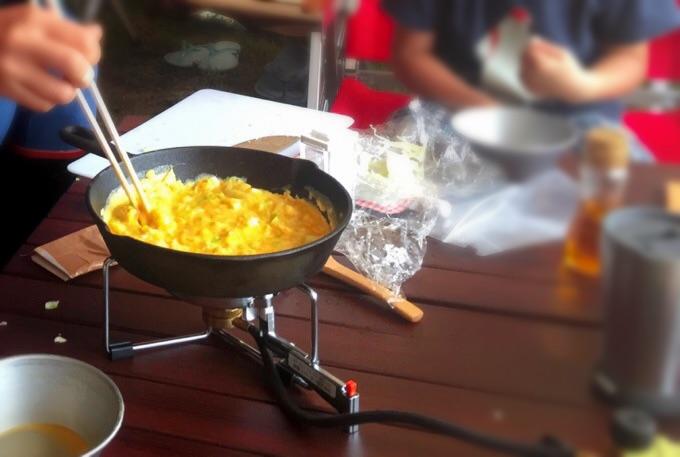 ST-301 キャンプ料理