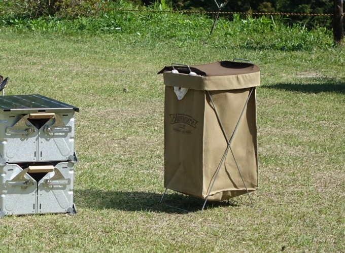 ランドリーバスケットゴミ箱