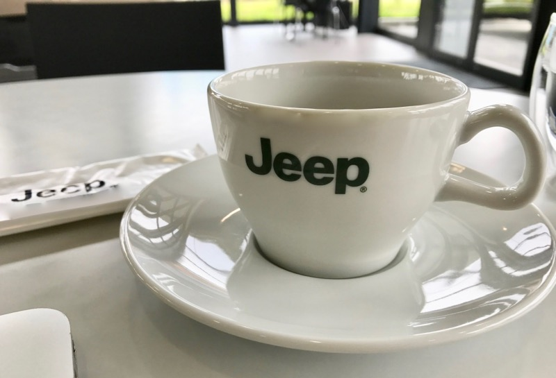 ジープ コーヒーカップ