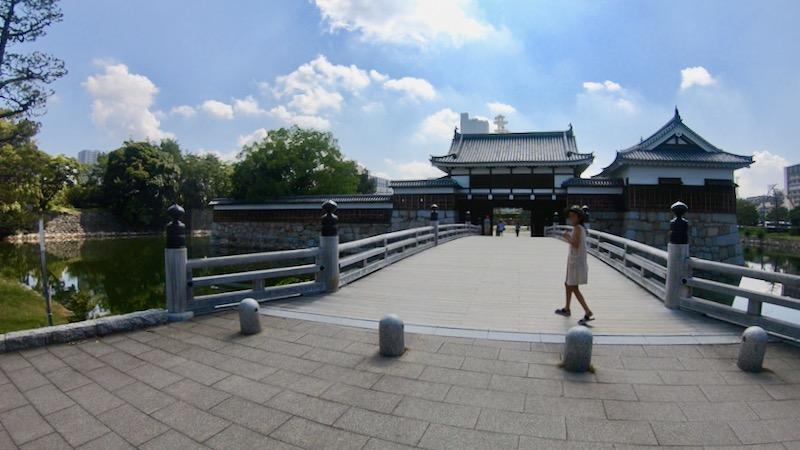 広島城 城門