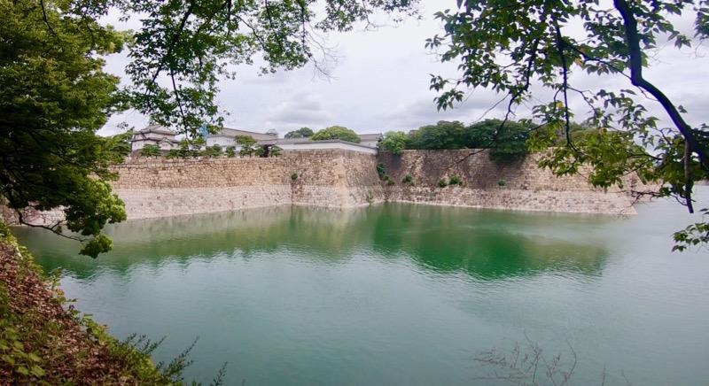 大阪城 堀