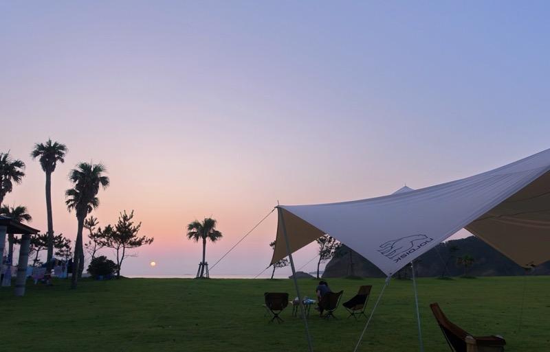 種子島キャンプ