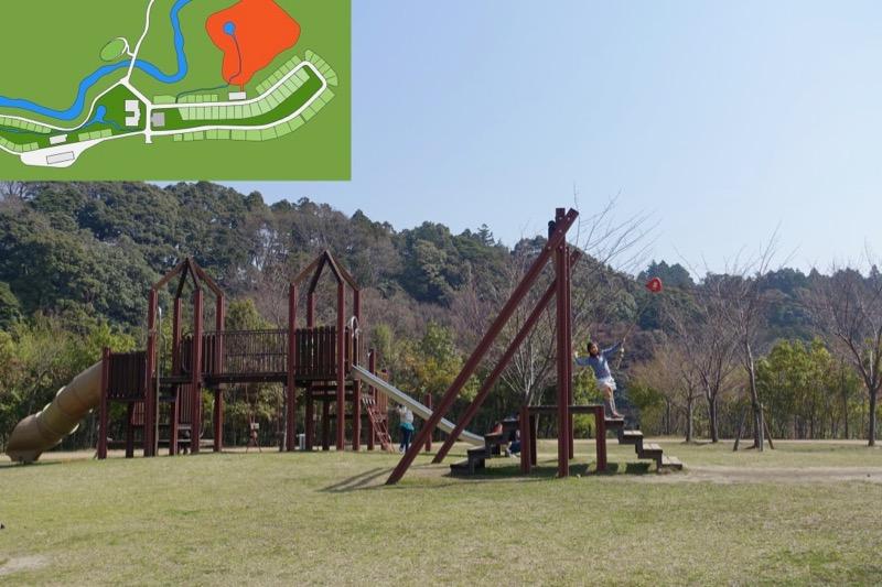 青川峡キャンピングパーク 公園
