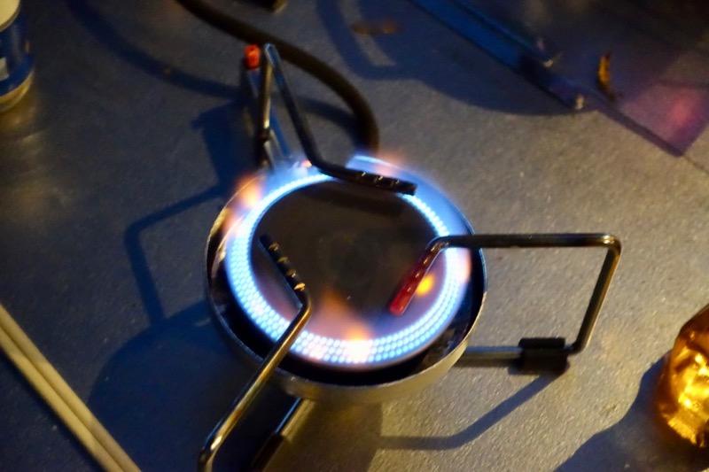 焚き火テーブル バーナー