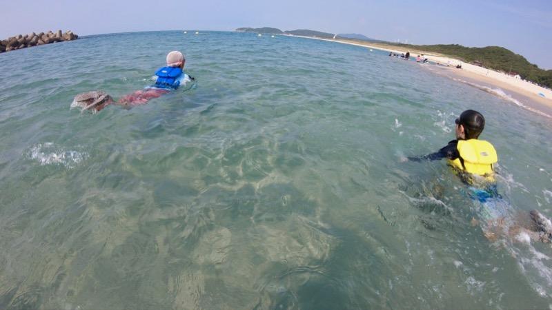 石見海浜公園 海水浴