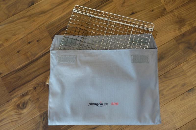 焼き網も一緒に入るピコグリル398収納ケース