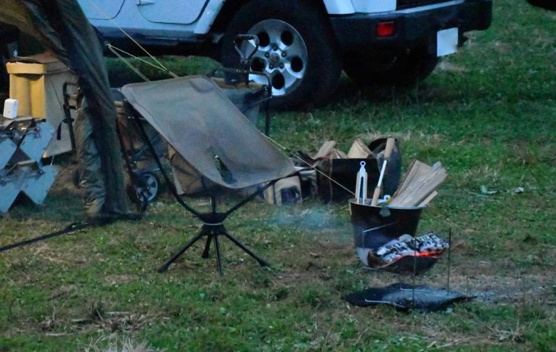 ピコグリル398とソロキャンプ
