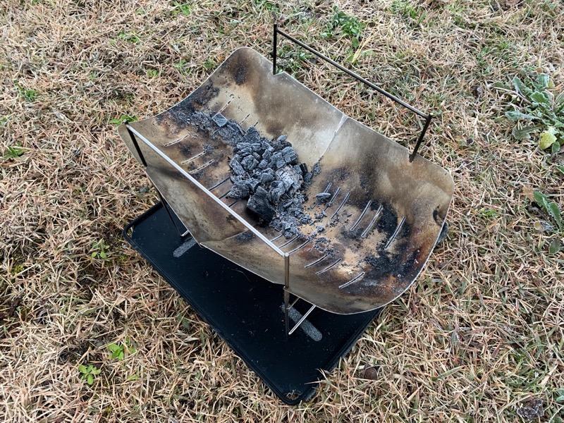 燃えかすが少ないピコグリル398