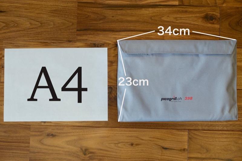 ほぼA4サイズのピコグリル398
