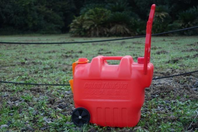 カラータンク 2000GT W3レッド 灯油タンク
