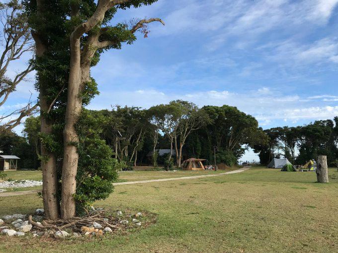 表浜ほうべの森キャンプ場