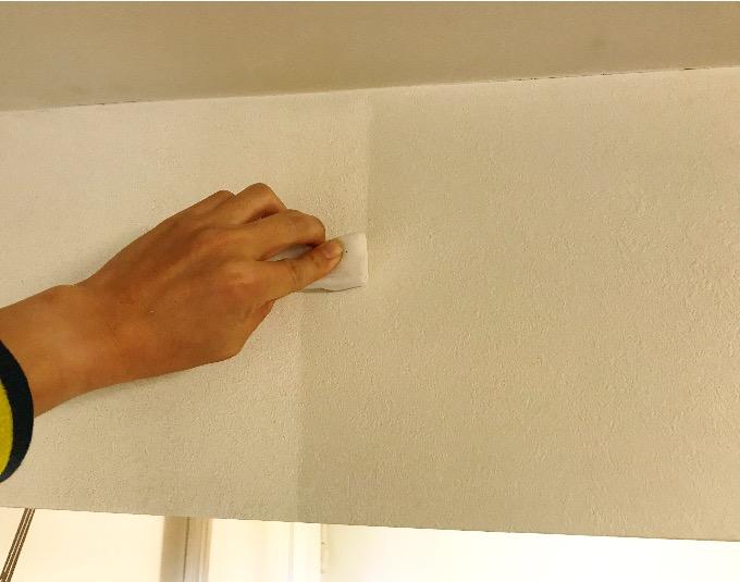 壁紙スス掃除