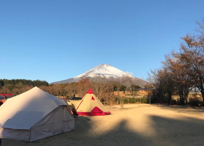 富士山 やまぼうしオートキャンプ場