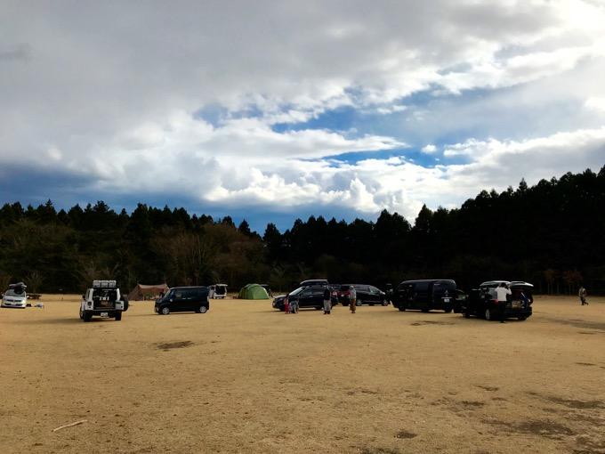 やまぼうしキャンプ場 キャンプサイト