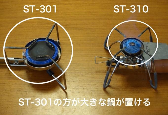 ST-301 ST-310 比較1