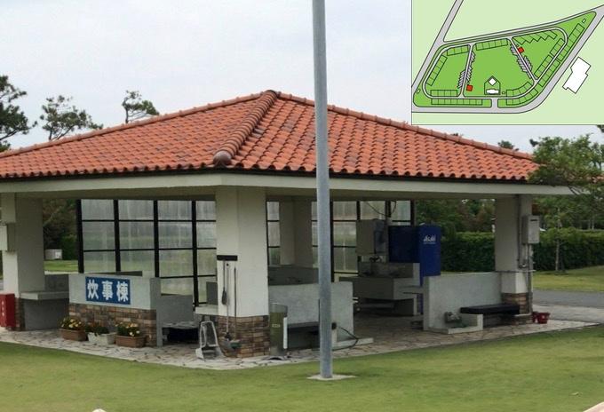 竜洋海洋公園オートキャンプ場 炊事棟