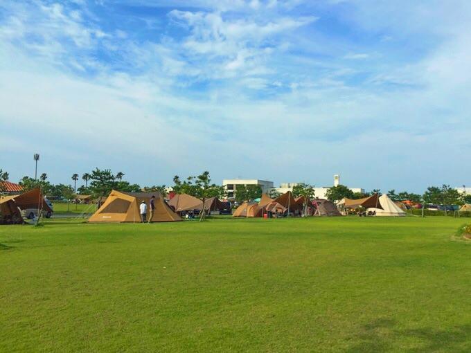竜洋海洋公園オートキャンプ場 フリーサイト