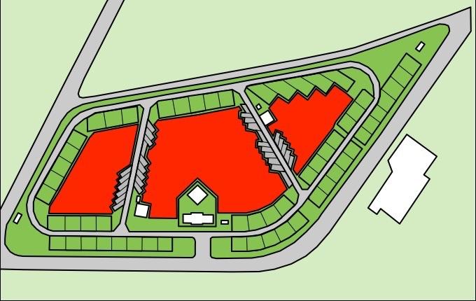 竜洋海洋公園オートキャンプ場 フリーサイト地図
