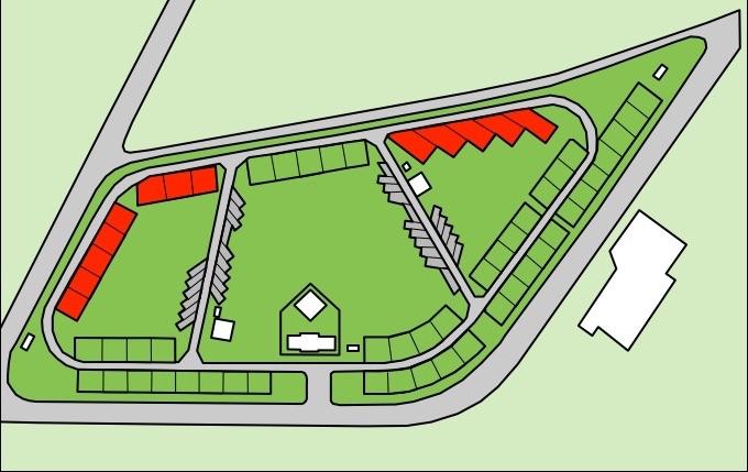 竜洋海洋公園オートキャンプ場 コテージ地図