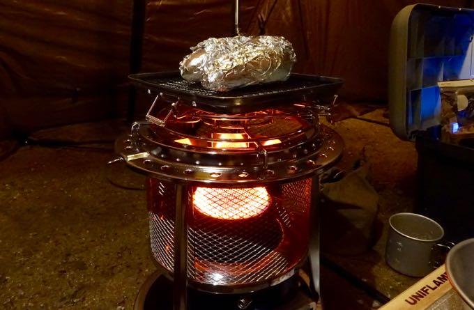 フジカハイペットで焼き芋