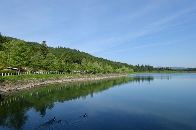 美しい椛の湖