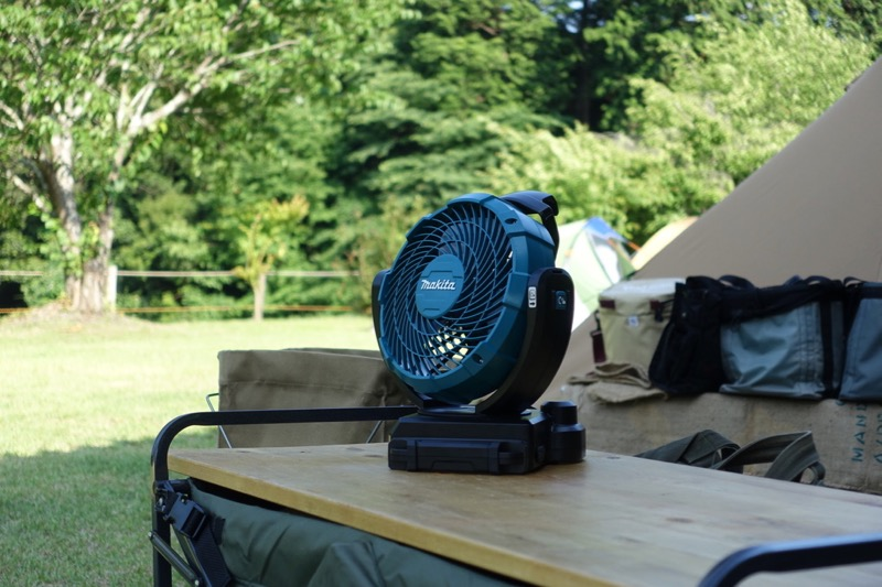 キャンプ 扇風機