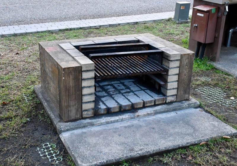 バーベキューなどができる「炉」