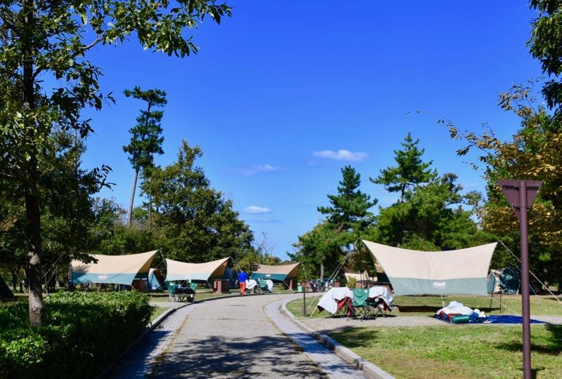 休暇村越前三国オートキャンプ場