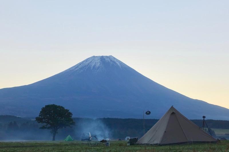 パンダTCと富士山