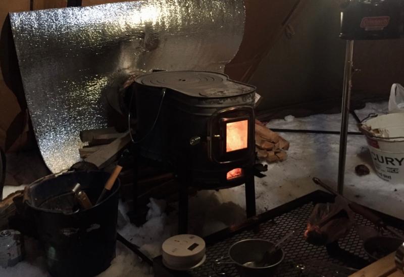 薪ストーブの炉壁