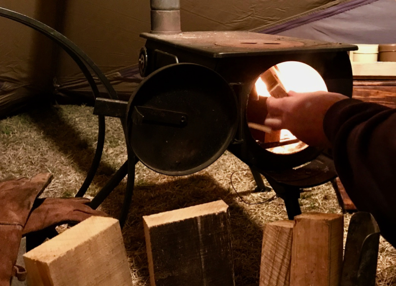 薪ストーブに入る薪のサイズ