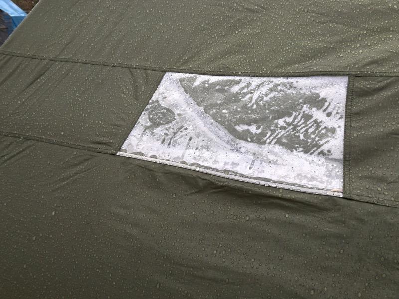 バランゲルドーム 雨