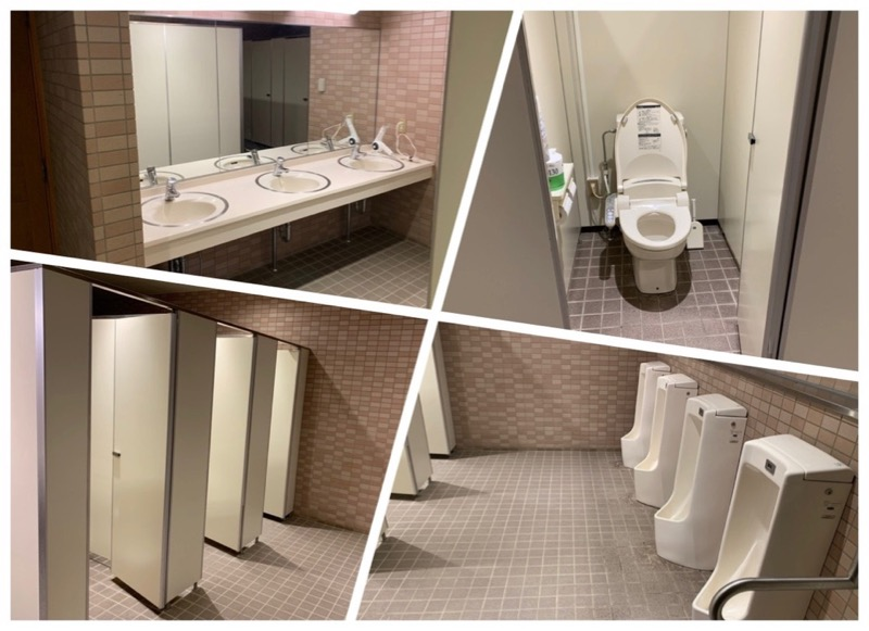 青川峡キャンピングパーク  トイレ
