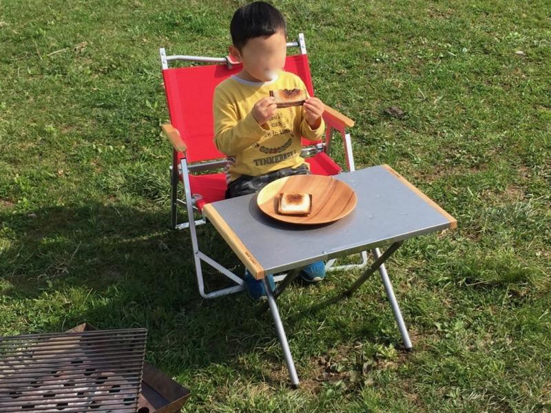 焚き火テーブル 利用方法