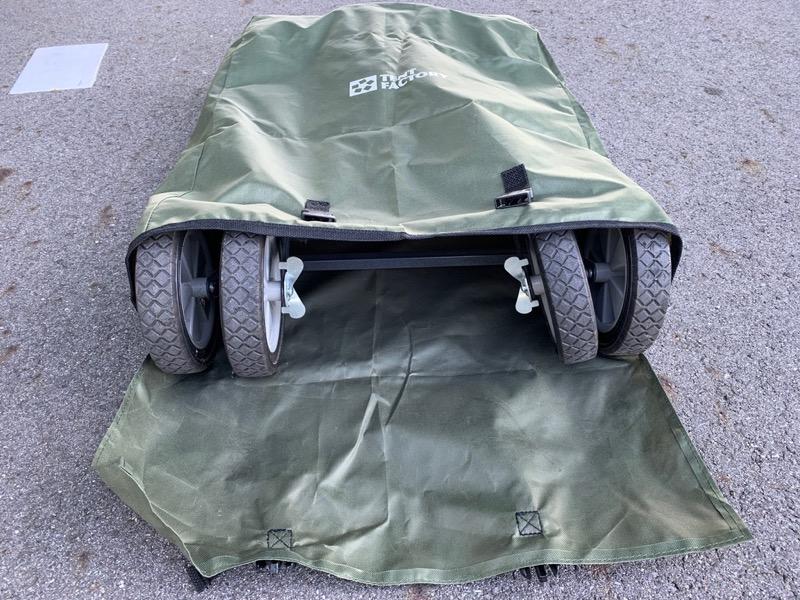 テントファクトリーキャリーワゴンの収納方法