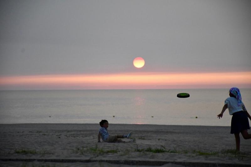 石見海浜公園キャンプ場 海岸