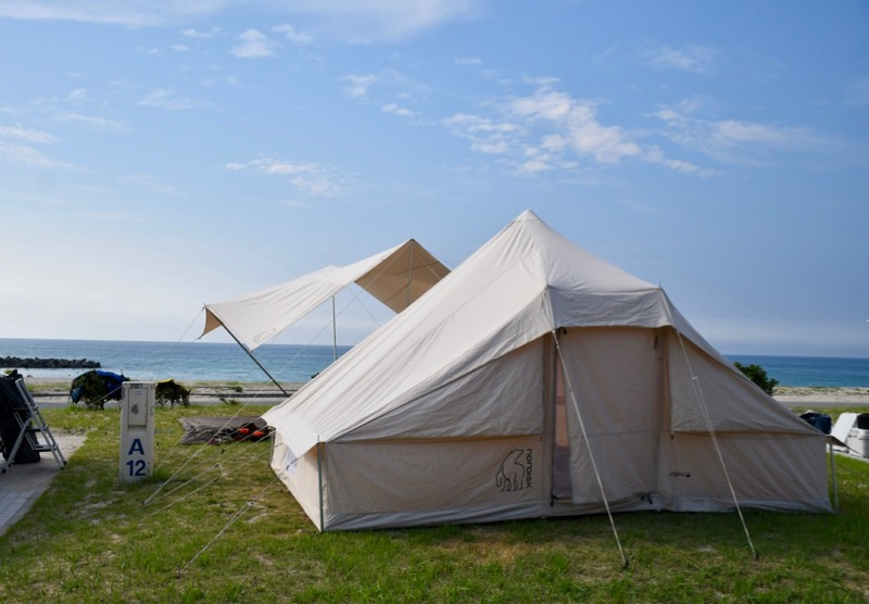 石見海浜公園 区画サイト