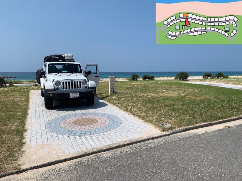 石見海浜公園オートキャンプ場