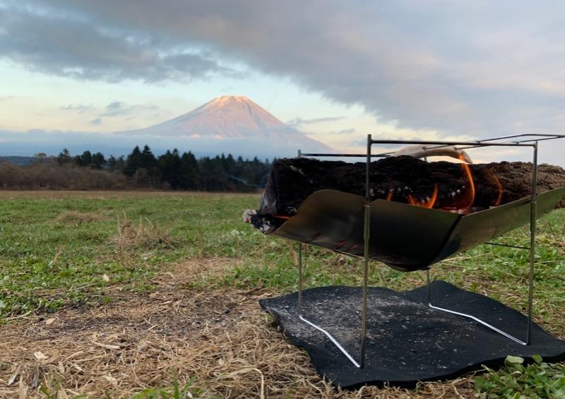 ピコグリルと富士山