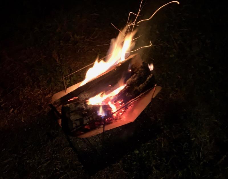 薪が良く燃えるピコグリル398