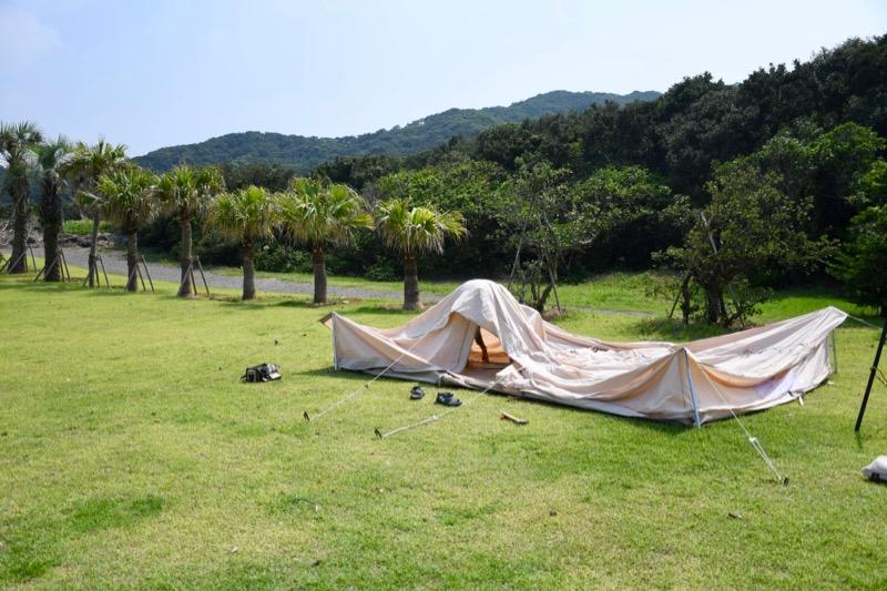 キャンプ 設営